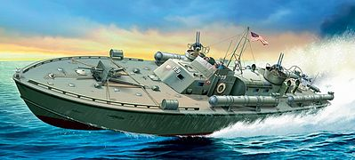 Italeri PT-109 Motor Torpedo Boat -- Plastic Model Military Ship Kit -- 1/35 Scale -- #555613