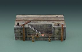 Italeri Dock with Stairs Plastic Model Diorama Kit 1/35 Scale #555615