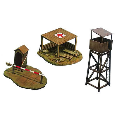 Italeri WWII Battlefield Buildings Plastic Model Military Diorama 1/72 Scale #556130