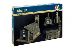 Italeri Church Diorama Plastic Model Military Diorama 1/72 Scale #556174