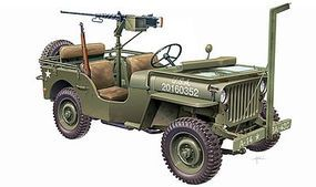 Italeri 1/4-Ton 4x4 Willys Jeep Plastic Model Military Vehicle Kit 1/24 Scale #556351