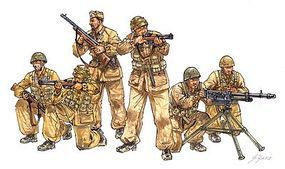 Italeri Italian Paratroopers Combat Group Plastic Model Military Figure Kit 1/35 Scale #556492