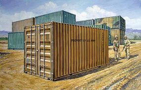 20' Military Container Plastic Model Military Kit 1/35 Scale #556516