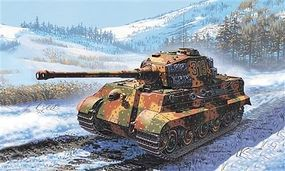 Italeri King Tiger Tank Plastic Model Military Vehicle Kit 1/72 Scale #557004