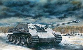 Italeri Sd.Kfz 173 Panther Plastic Model Military Vehicle Kit 1/72 Scale #557048