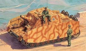 Italeri Sturmpanzer IV Brummbar Sd. Kfz. 166 Plastic Model Military Vehicle Kit 1/72 Scale #557050