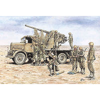 Italeri Autocannone 3 RO with 90/53 AA Gun Plastic Model Military Vehicle Kit 1/72 Scale #557508