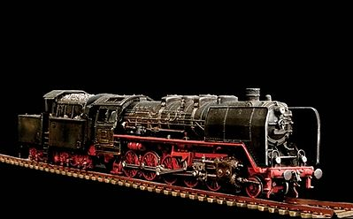 Italeri BR50 -- Plastic Model Locomotive Kit -- 1/87 Scale -- #558702