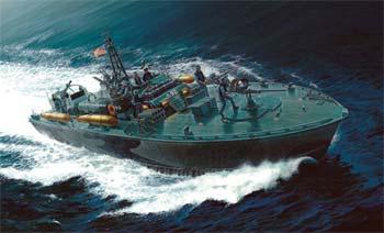 Italeri 1/35 Elco 80' Torpedo PT-596 Boat