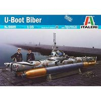 Italeri Biber Midget Submarine Plastic Model Military Ship Kit 1/35 Scale #5609s