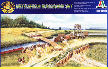 Italeri 19th Century Battlefield Accessories Plastic Model Military Diorama Kit 1/72 Scale #6030