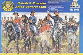 Italeri Waterloo British and Prussian Gen.St. Plastic Model Military Figure Kit 1/72 Scale #06065