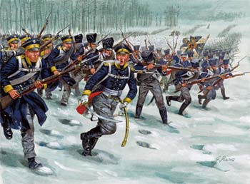 Italeri Prussian Infantry Napoleonic War Plastic Model Military Figure Kit 1/72 Scale #6067
