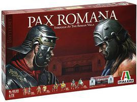 Italeri Pax Romana Battle Set Plastic Model Military Diorama Kit 1/72 Scale #6115s