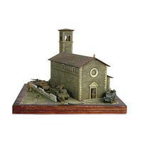 Italeri Church Diorama Kit Plastic Model Diorama 1/72 Scale #6174s