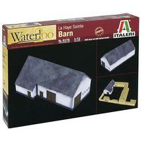 Italeri Waterloo 1815 La Haye Sainte Barn Plastic Model Building Kit 1/72 Scale #6175s