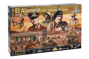 Italeri 1/72 El Alamein Battle Railway Station Diorama