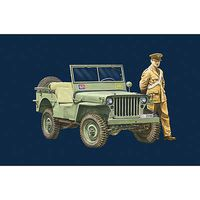 Italeri Jeep Arma dei Carabinieri Plastic Model Military Vehicle Kit 1/35 Scale #6355s
