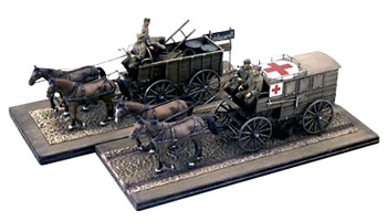 Italeri 1/35 German Horse-Drawn Convoy