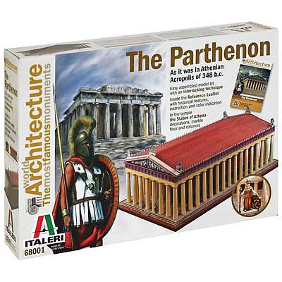 Italeri The Parthenon -- Plastic Model Building Kit -- #68001