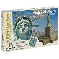 Italeri The Statue Of Liberty Plastic Model Building Kit #68002