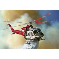 Italeri Bell 412 LAFD Model Set Plastic Model Helicopter Kit 1/72 Scale #70391