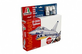 Italeri EF-2000 Typhoon with Sprue Cutter and Video Plastic Model Airplane Kit 1/72 Scale #72001