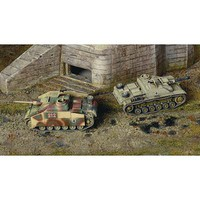 Italeri Sd.Kfz 142/1 Sturmgesch III Tank (2 Kits) Plastic Model Military Vehicle Kit 1/72 #7522s