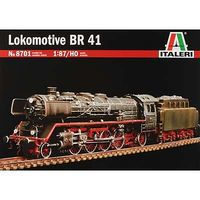 Italeri 1936 Lokomotive BR41 Plastic Model Locomotive Kit 1/87 Scale #8701s