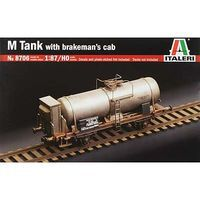 Italeri M Tank with Brakemans Cab Plastic Model Locomotive Kit 1/87 Scale #8706s