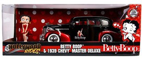 Jada-Toys 1/24 1939 Chevy Master Deluxe w/Betty Boop Figure