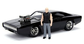 Jada-Toys 1/24 Fast & Furious Dodge Charger R/T w/Dom Toretto Figure