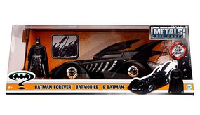 Jada-Toys 1/24 1995 Batman Forever Batmobile w/Batman Figure