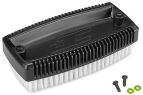 J-Concepts Wash Brush w/ Mounting Screws, Black
