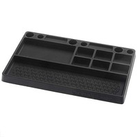 J-Concepts Rubber Parts Tray Black