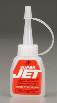 Jet Hangar Hobbies SUPER JET MED CA 1/2oz -- CA Super Glue -- #767