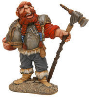 JimmyFlintstone Larry The Viking Dwarf Resin Model Fantasy Figure Kit 150mm #drf1