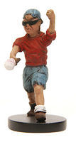 JimmyFlintstone Chucky The Little Boy Resin Model Fantasy Figure Kit 1/25 Scale #jf80