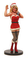 JimmyFlintstone Jenny Santas Helper Resin Model Fantasy Figure Kit 1/25 Scale #jf89