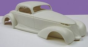JimmyFlintstone Prowler Coupe Full-Fendered Body for AMT Resin Model Vehicle Accessory 1/25 Scale #nb107