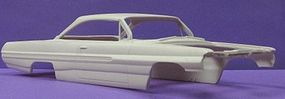 JimmyFlintstone 1962 Catalina Bubble Top Body for AMT Resin Model Vehicle Accessory 1/25 Scale #nb114