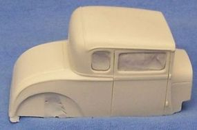 JimmyFlintstone 1928-29/32 Ford Model A Coupe Body Resin Model Vehicle Accessory 1/25 Scale #nb241