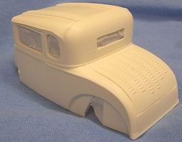 JimmyFlintstone 1928-29/32 Ford Model A Coupe Custom Body Resin Model Vehicle Accessory 1/25 Scale #nb242