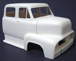 JimmyFlintstone 1953 Ford 4-Door Cab over Truck Body for AMT Plastic Model Vehicle Accessory 1/25 #nb295