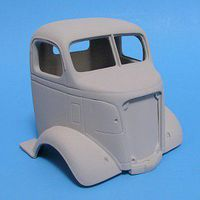 JimmyFlintstone 1938 GMC Cab Over Resin Body & Grill Plastic Model Vehicle Accessory 1/25 Scale #nb303