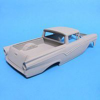 JimmyFlintstone 1957 Ford Rancharo Resin Body & Bed Plastic Model Vehicle Accessory 1/25 Scale #nb305