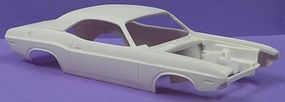 JimmyFlintstone 1970 Dodge Challenger SE Body for AMT Resin Model Vehicle Accessory 1/25 Scale #nb67