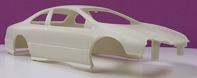 JimmyFlintstone 2000 2-Door Concord Body for AMT Resin Model Vehicle Accessory 1/25 Scale #nb69