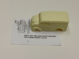 JimmyFlintstone Pug Nose Divco Delivery Body for 4-Gear Chassis Resin Slot Car Body HO #sl11