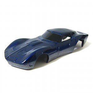 Jimmy Flintstone HO Corvette Makoshark Body for 4-Gear Chassis